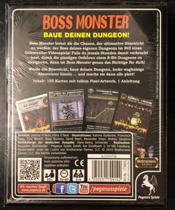 Bossmonster back